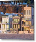 At Home On Santa Monica Beach Metal Print