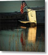 At Peace Metal Print