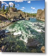 At Riverside Bowl And Pitcher State Park In Spokane Washington Metal Print