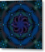 At The Bottom Of The Sea Metal Print