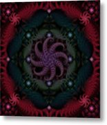 At The Bottom Of The Sea Are Rubies Metal Print