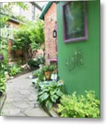 At The Corner Of Summer And Love Metal Print
