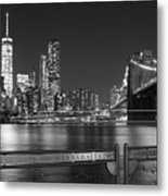 At The Edge Of Brooklyn Metal Print