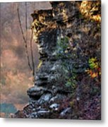 At The Edge Of The Earth Metal Print