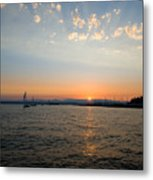 At The End Of Day Metal Print