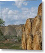 At The End Of Nowhere Road Metal Print
