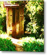 At The End Of The Path Metal Print