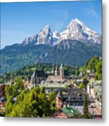 At The Foot Of The Watzmann Metal Print