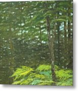At The Forest's Edge Metal Print