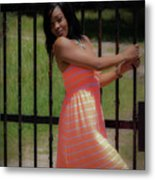 At The Gates Metal Print