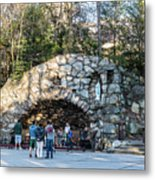At The Grotto Metal Print