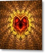 At The Heart Of The Matter Metal Print