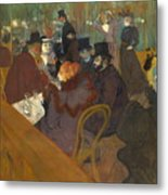 At The Moulin Rouge 1892 95 Metal Print