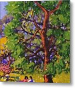 At The Park Metal Print