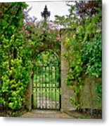 At The Secrete Gate To The Garden. Metal Print