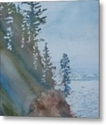 At The Water's Edge Metal Print by Jenny Armitage