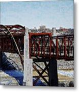 At Three Bridges Park Metal Print