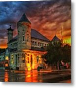 Atchison Post Office  Metal Print