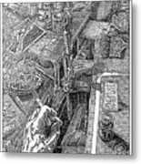 Atelier Erdberg 95-l-10 Metal Print
