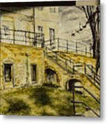 Atelier With Daily Sun Metal Print