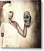 Athena Metal Print