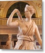 Athena Statue Metal Print