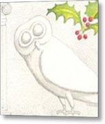 Athenian Owl Metal Print
