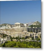 Athens Metal Print by Julia Bridget Hayes