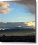 Athens Sunrise Metal Print by Julia Bridget Hayes