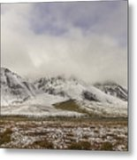 Atigun Pass Brooks Range Alaska Metal Print