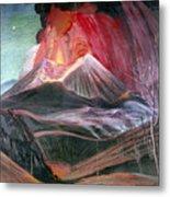 Atl: Volcano, 1943 Metal Print