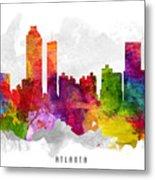 Atlanta Georgia Cityscape 13 Metal Print
