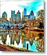 Atlanta The Great Metal Print