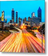 Atlanta - Usa Metal Print