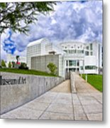 Atlanta's High Museum Metal Print