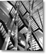 Atlantic Avenue Arts Block Building Metal Print