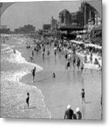 Atlantic City, 1920s Metal Print