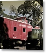 Atlantic Coast  Line Railroad Carriage Metal Print