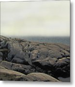 Atlantic Lighthouse Metal Print