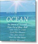 Atlantic Ocean Metal Print