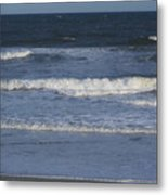Atlantic Ocean Gradient Metal Print