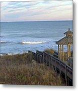 Atlantic Ocean Nc Metal Print