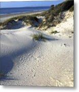 Atlantic Ocean Sand Dunes Metal Print