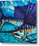 Atlantic Sailfish Metal Print