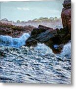Atlantic Waves 2 Metal Print