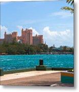 Atlantis Across The Harbor Metal Print