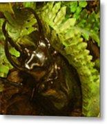 Atlas Beetle Metal Print