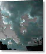 Atmospheric Barcode 14 6 2008 2 Metal Print
