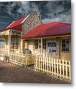 Attic House Metal Print
