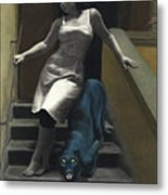 Attraction The Stairs Of Love Metal Print